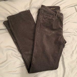 LOFT charcoal gray corduroy bootcut pants!